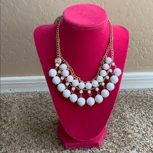 Lauren Ralph Lauren white beaded necklace